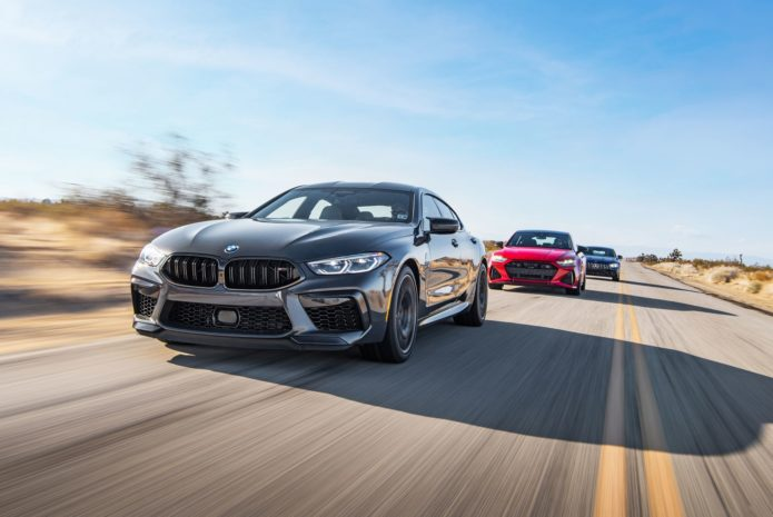 Tested: 2021 Audi RS7 vs. 2020 BMW M8 Gran Coupe vs. 2021 Mercedes-AMG GT63 S