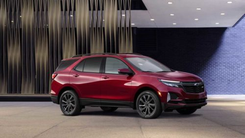 2022 Chevy Equinox Loses Entry-Level L Trim: Report