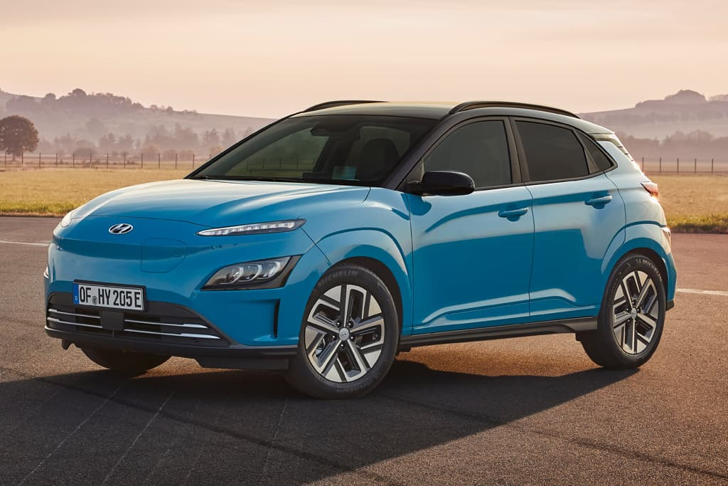 Updated Hyundai Kona Electric brings more range
