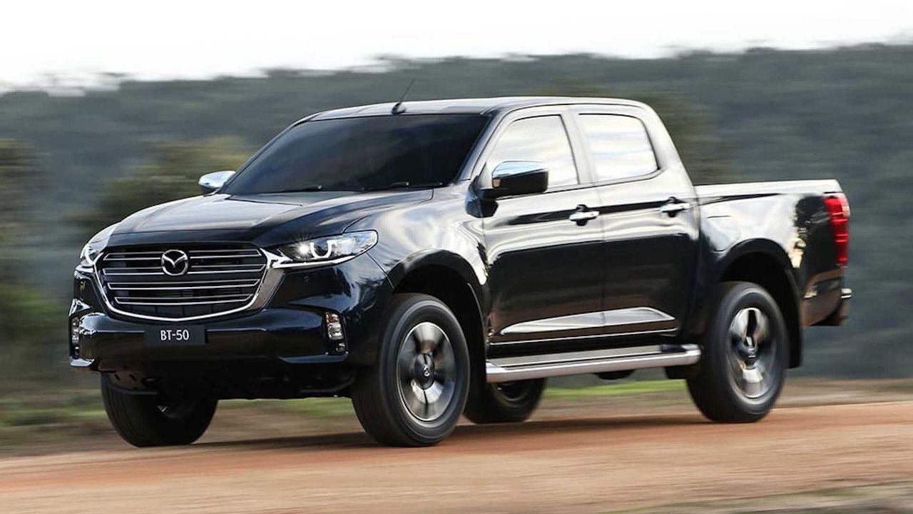 2021 Mazda BT-50 v Isuzu D-Max comparison