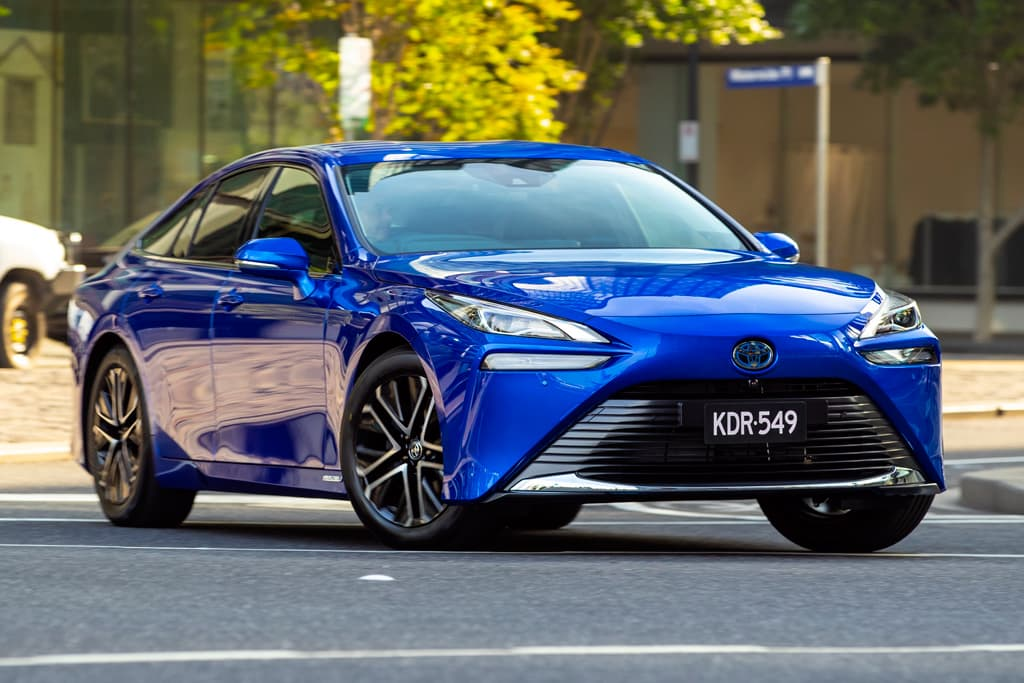 Toyota Mirai pricing revealed