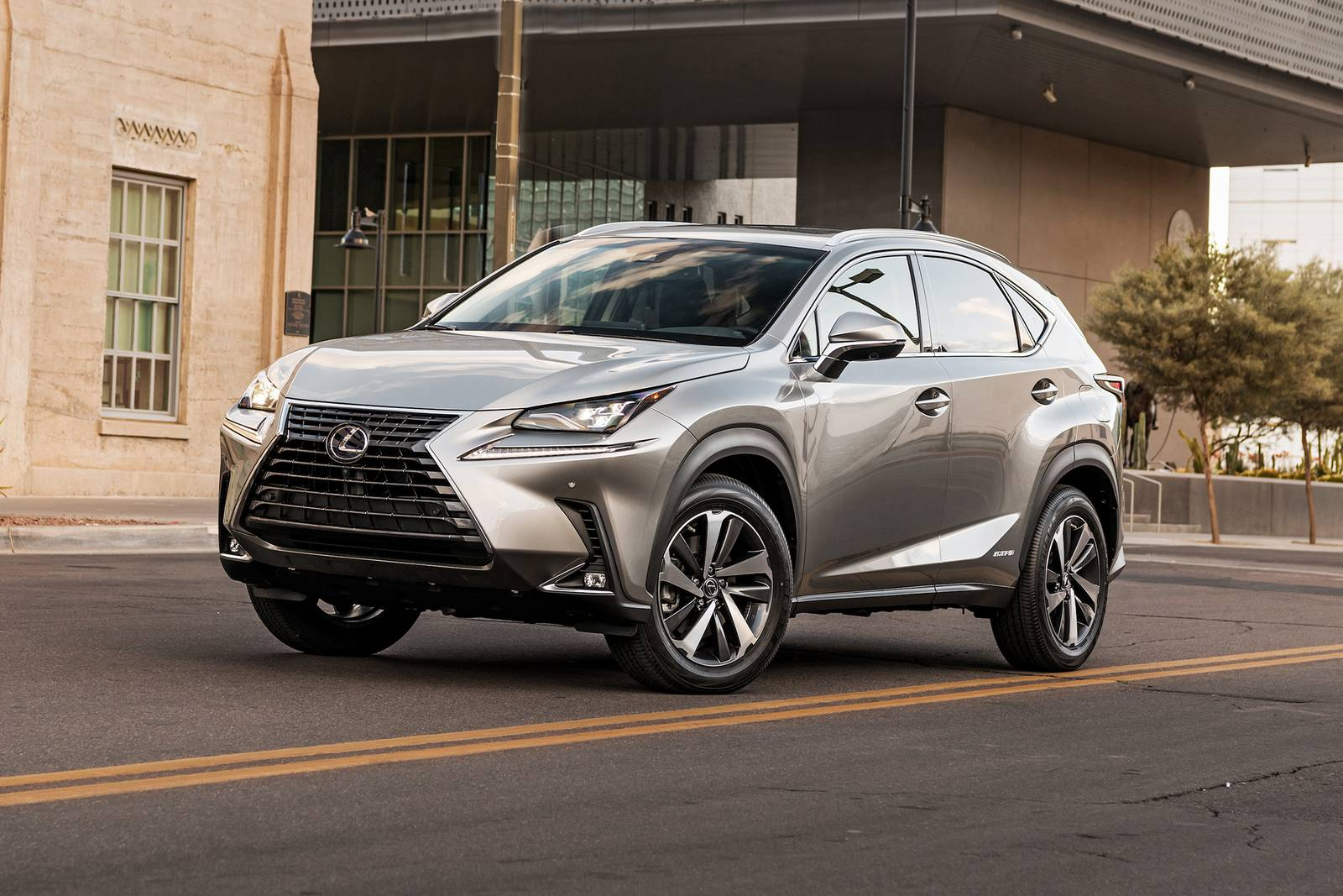 2021 Lexus NX 300h Review