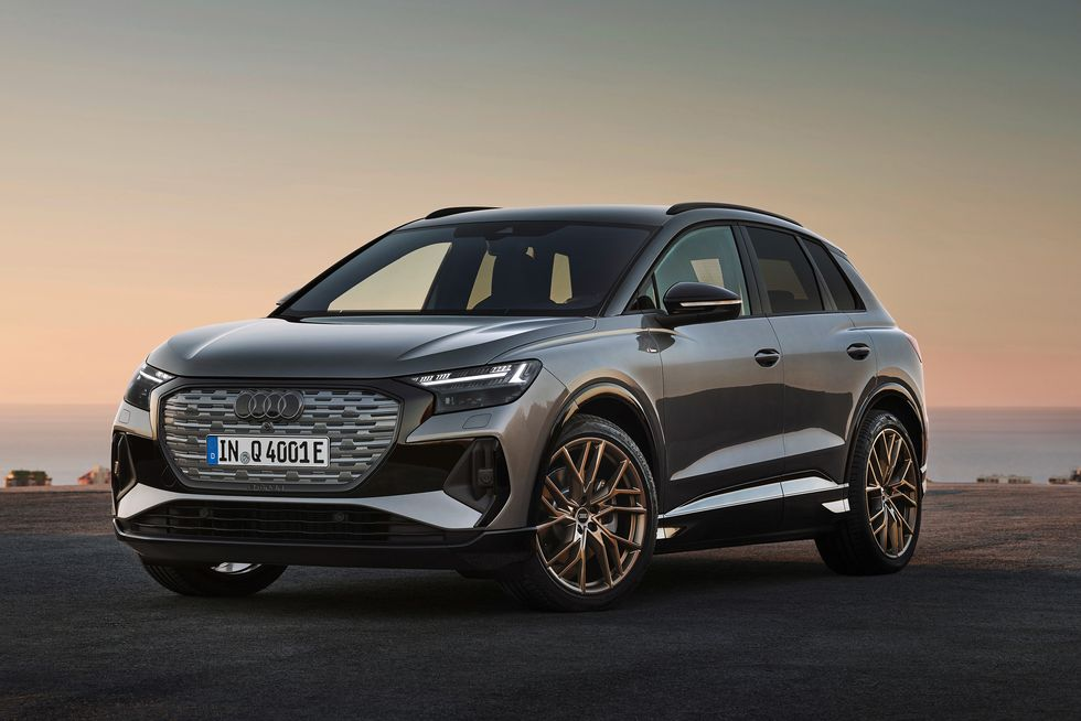 2022 Audi Q4 e-tron Is the VW ID.4's Upscale Sibling