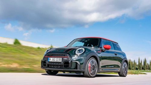 2022 Mini John Cooper Works hardtop arrives with fresher styling and interior updates