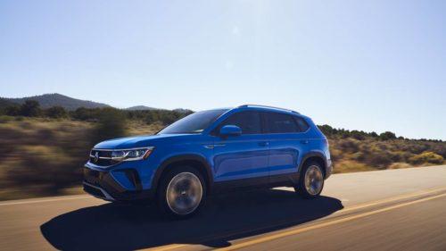 2022 Volkswagen Taos achieves EPA-confirmed 31 mpg; base prices start at under $23k