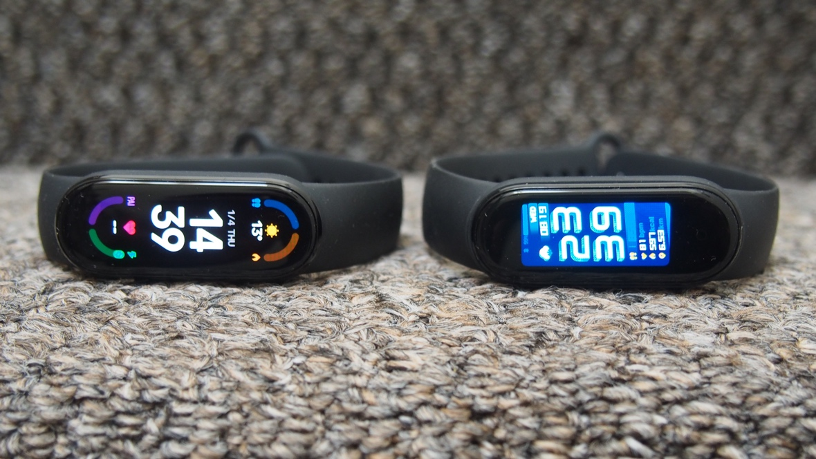 Xiaomi Mi Band 6 v Mi Band 5: the key differences