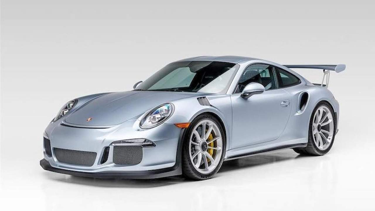 Jerry Seinfeld's former 2016 Porsche 911 GT3 RS is for sale