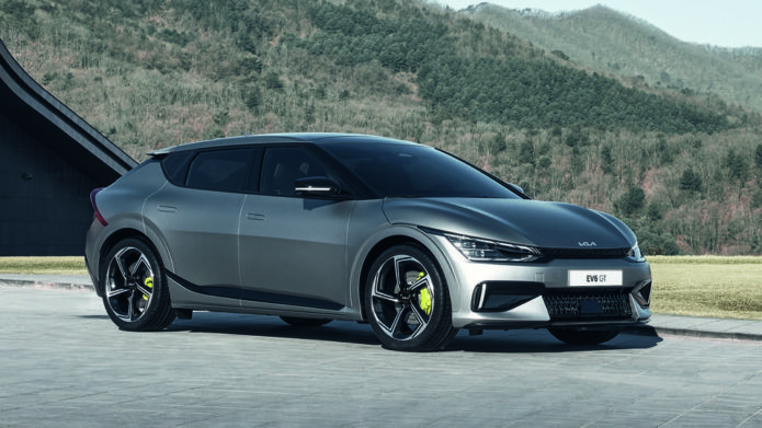 Kia EV6 GT's blistering electric speed will take your breath away