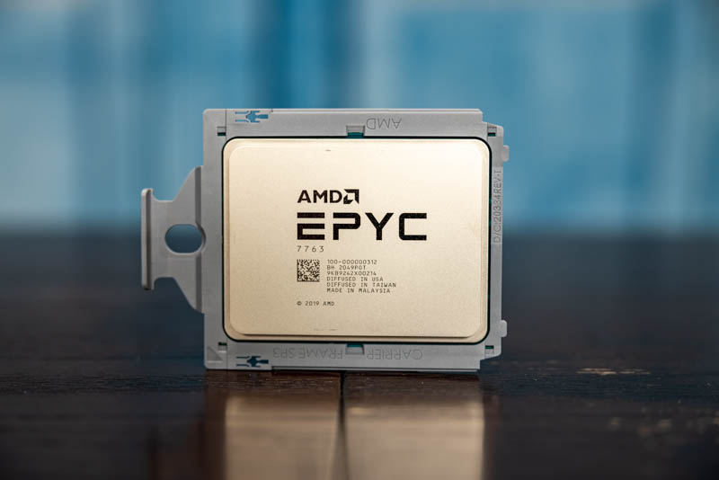 AMD EPYC 7763 Review