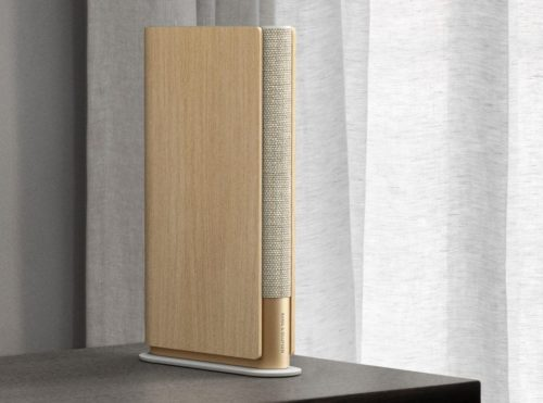 Bang and Olfusen's Beosound Emerge is a wireless speaker that looks like a book
