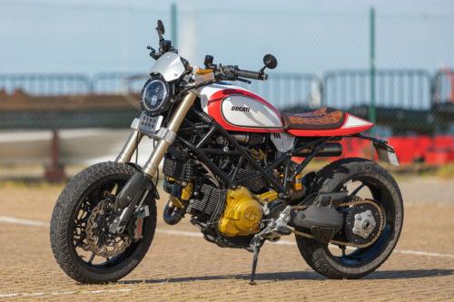 Custom Ducati Hypermotard: Jorge Rodrigues' Hypertracker