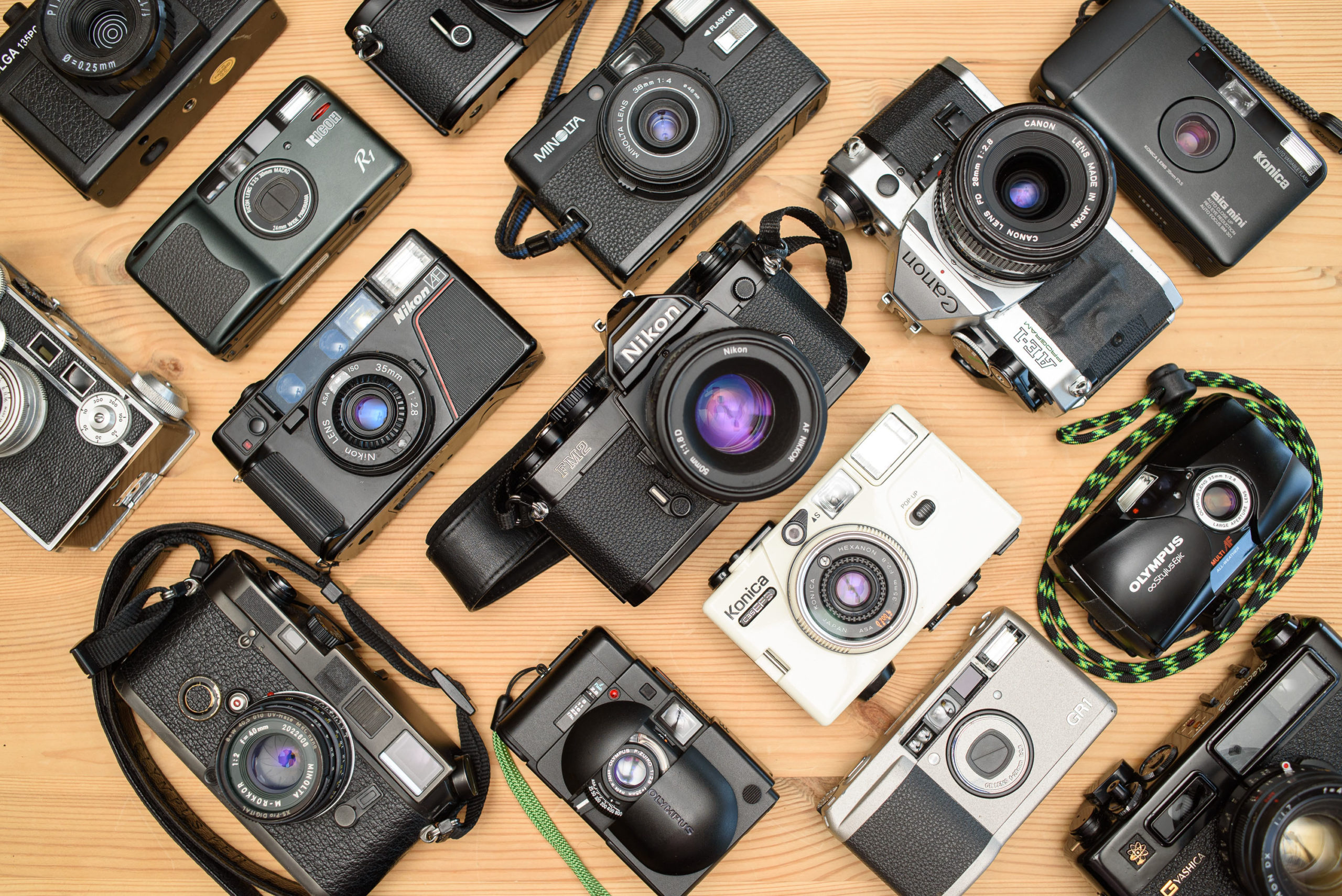 The absolute beginner's guide to film photography: 7 common camera types