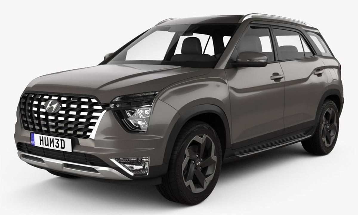 2021 Hyundai Alcazar Breaks Cover As New Three-Row SUV