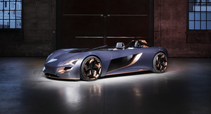 The Suzuki Misano concept is a new speedster with motorcycle-inspired tandem seating