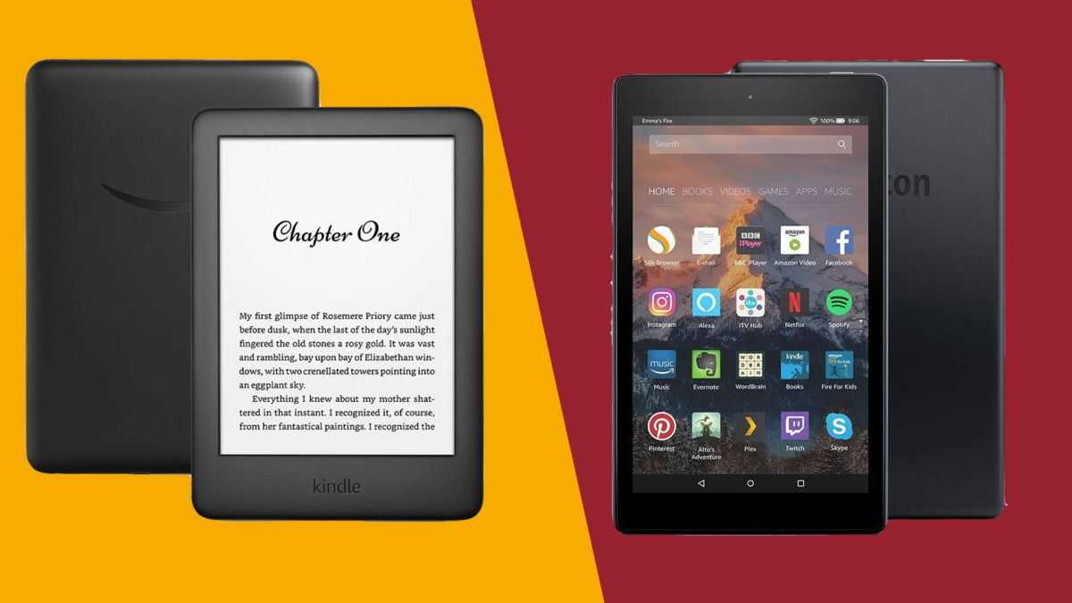 Amazon Fire tablet vs Amazon Kindle: we'll help you understand the difference