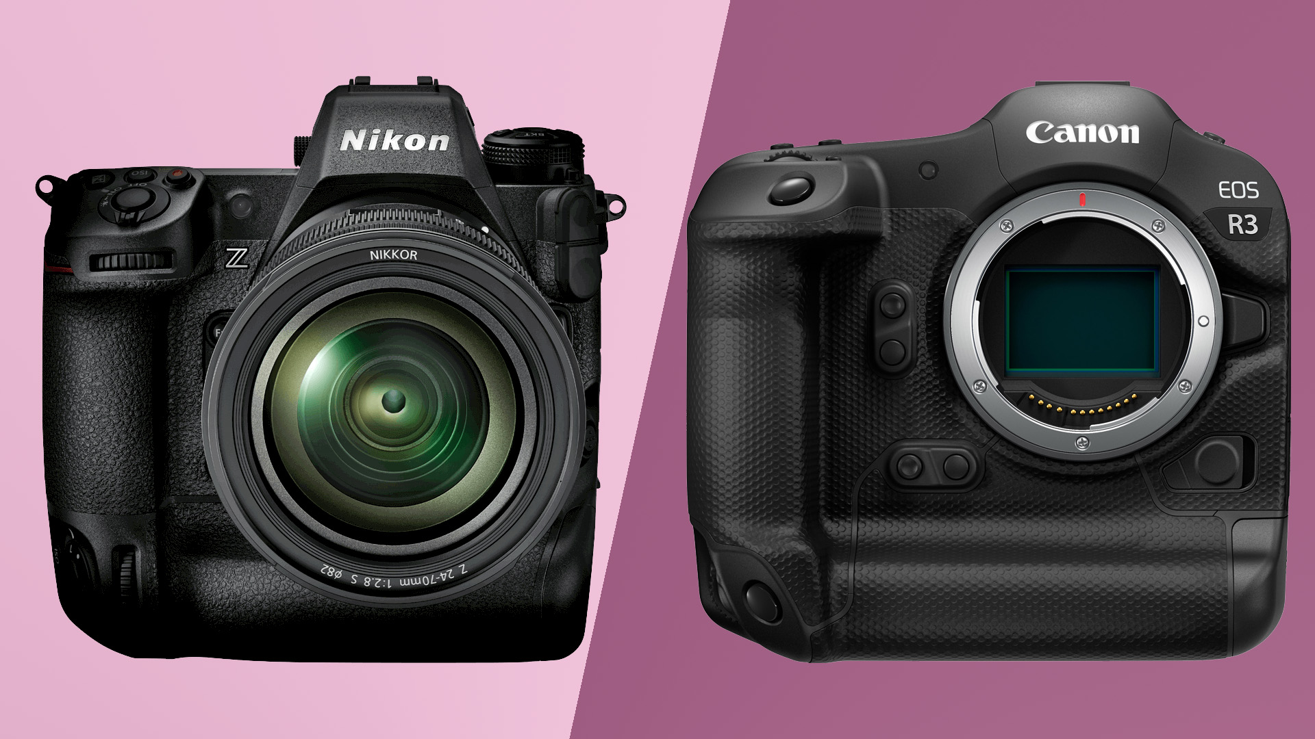 Canon EOS R3 vs Nikon Z9: how are the mirrorless flagships shaping up?