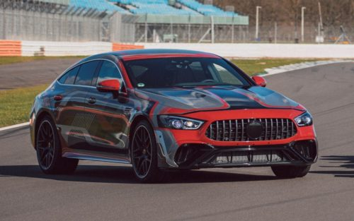 Mercedes-AMG GT73e Tries Out New Fashion Statement In New Spy Shots