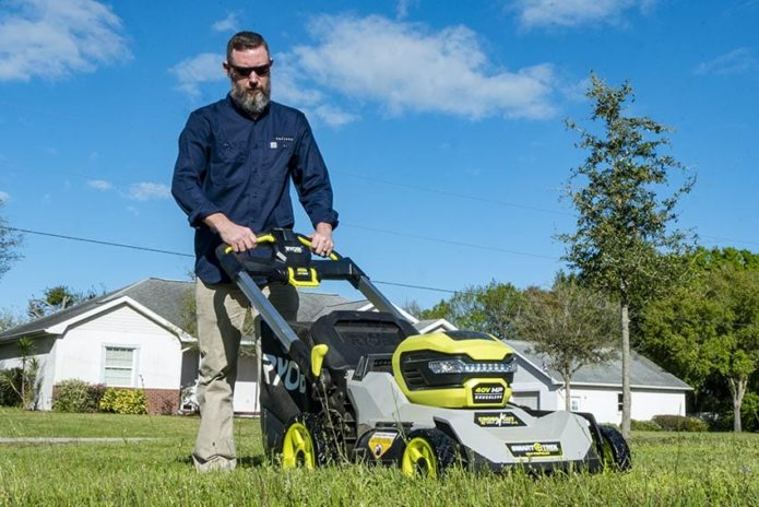 Ryobi 40V HP Brushless Crosscut Self-Propelled Lawn Mower Review RY401150
