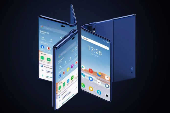 TCL shows off wacky take on foldable phones that just might work