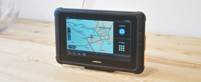 Hands on: Webfleet Solutions PRO 8475 TRUCK Android tablet review