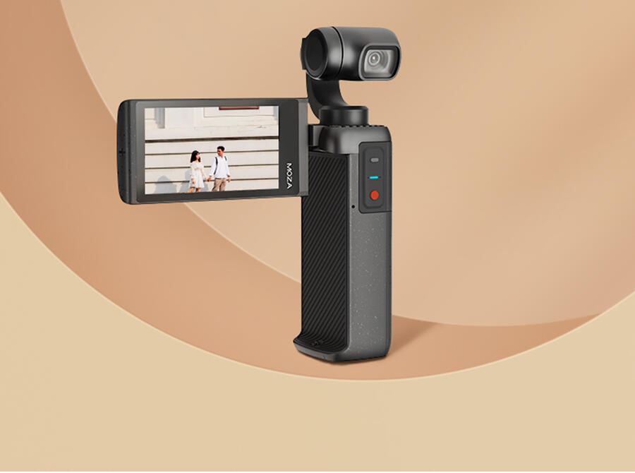 MOZA Moin Camera : A Pocket-Sized Film Tool Featuring a Camera with a Gimbal