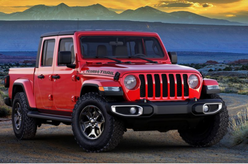 2021 Jeep Gladiator Pickup's New Texas Trail Model Is Exclusively for Texans