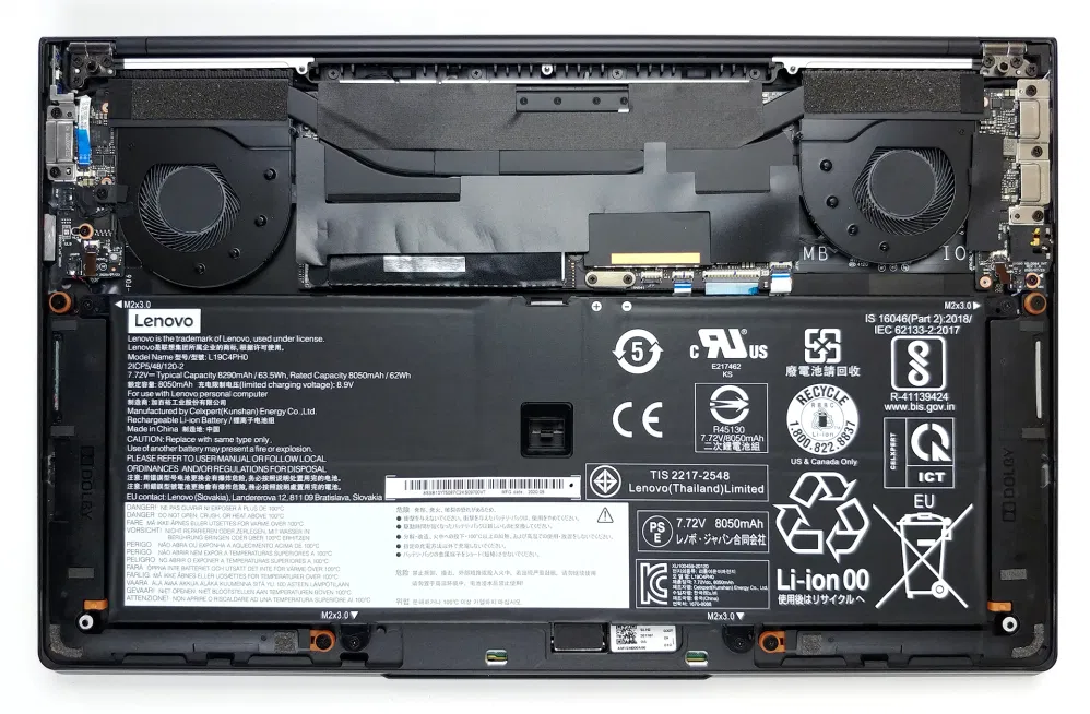 Inside Lenovo Yoga Slim 9i (14) – disassembly and upgrade options