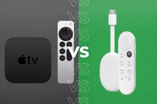 Apple TV 4K (2021) vs Chromecast with Google TV: Which media streamer should you buy?
