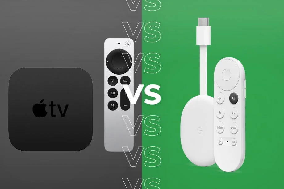 Apple TV 4K (2021) vs Chromecast with Google TV: Which media streamer should you buy?