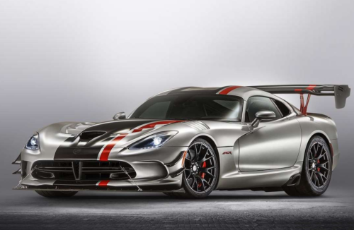 Dodge Sold Two New Vipers in the First Quarter of 2021