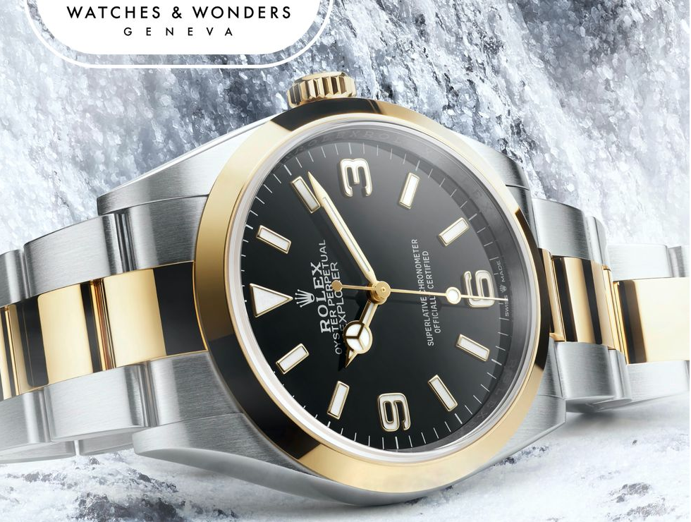 You Can Now Buy a Two-Tone Rolex Explorer