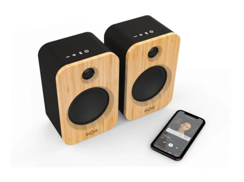 House of Marley's Get Together Duo are eco-conscious bookshelf speakers
