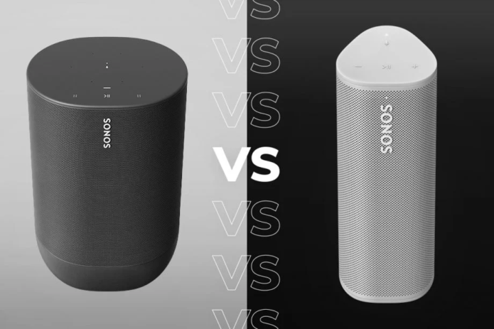 Sonos Roam vs Sonos Move: Which is better?