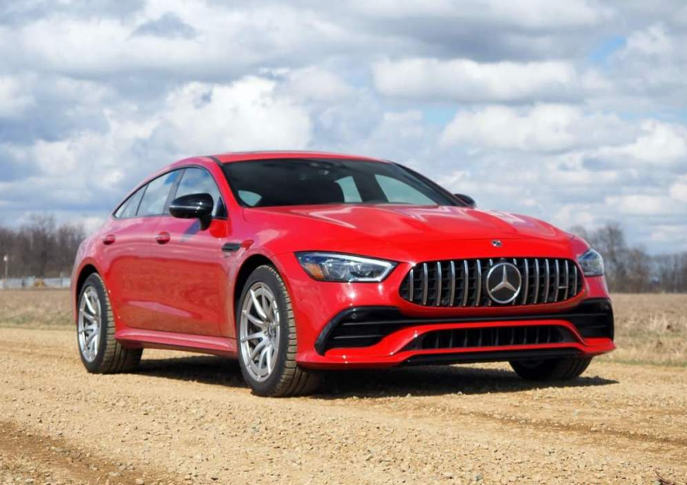 2021 Mercedes-AMG GT 43 4-Door Coupe Review: The charm of choice
