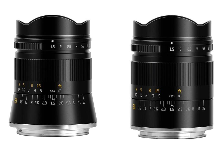 TTArtisans 21mm f/1.5 Now Available in Sony E and Nikon Z Mounts