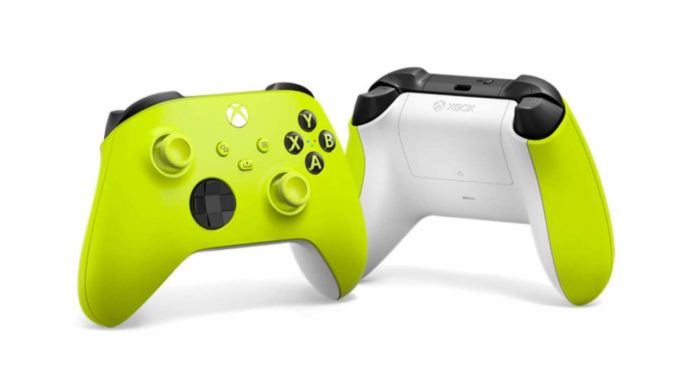 The latest Xbox Series X controller is here and it's very, very yellow
