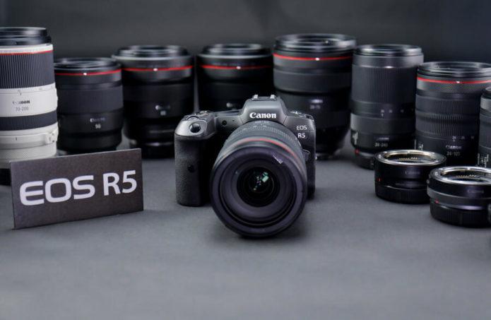 Best Lenses for Canon EOS R5