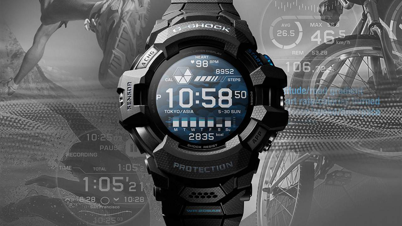 Casio G-Shock GSW-H1000 smartwatch rocks Wear OS