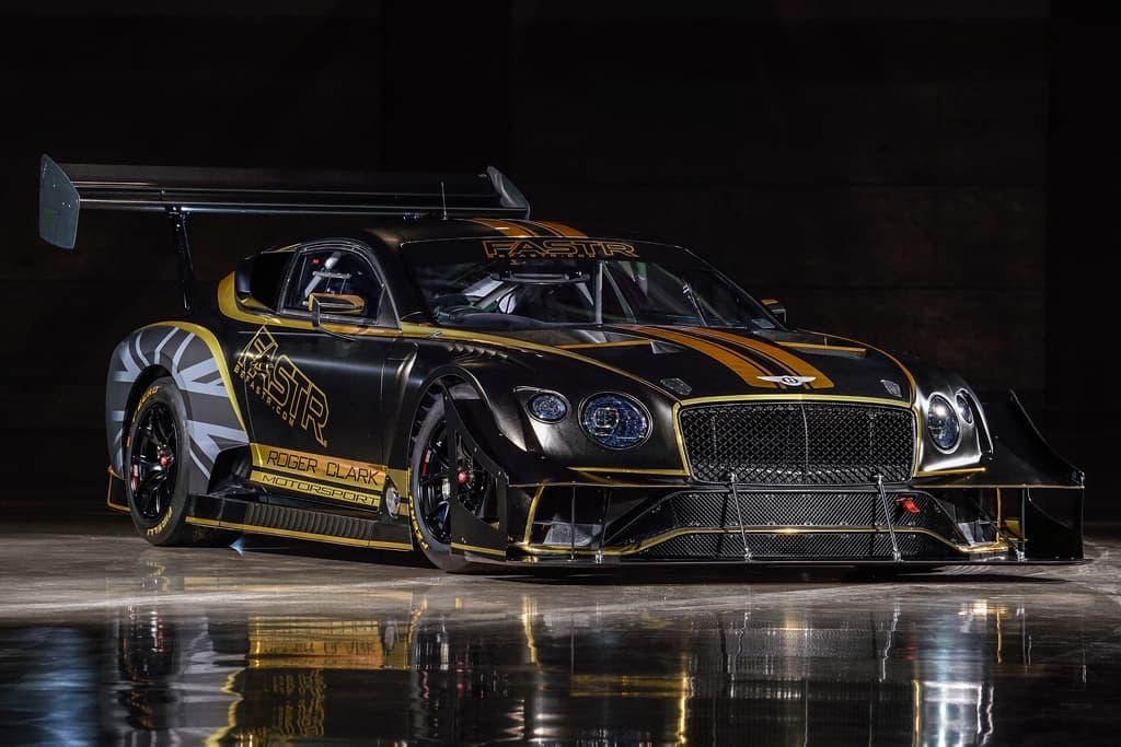 Bentley Continental GT3 goes bio-fuel