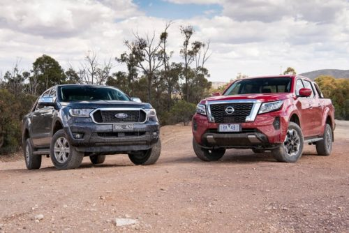 2021 Ford Ranger XLT v Nissan Navara ST-X Comparison