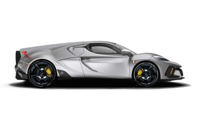 Italian carmaker FV Frangivento unveils Sorpasso supercar with V10 engine and AWD