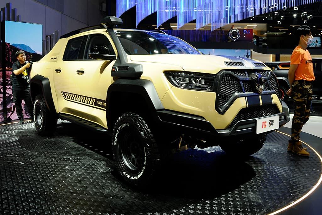 SHANGHAI MOTOR SHOW: GWM Baja Snake tough truck revealed