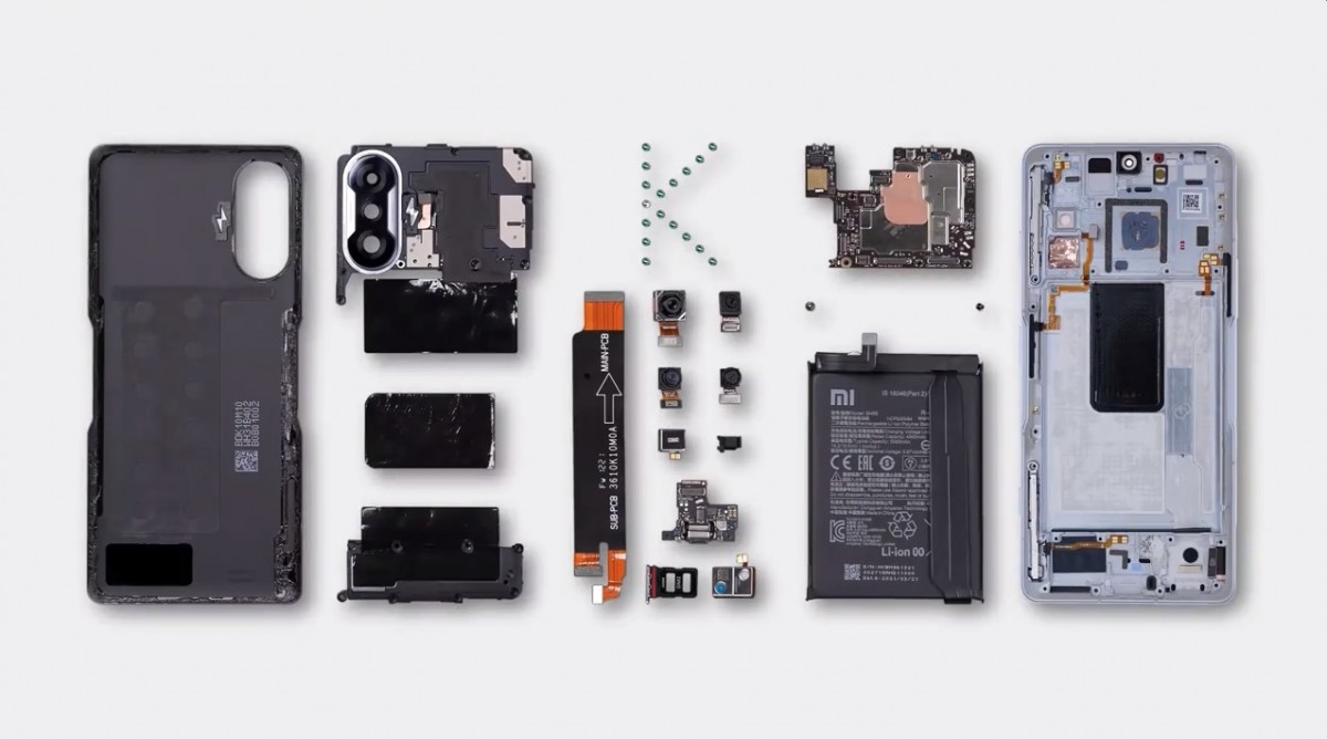 Watch the Redmi K40 Gaming Edition get torn down on video