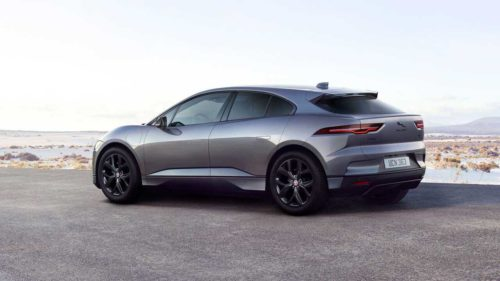 2022 Jaguar I-Pace Black Edition gets dark exterior trim and ebony leather