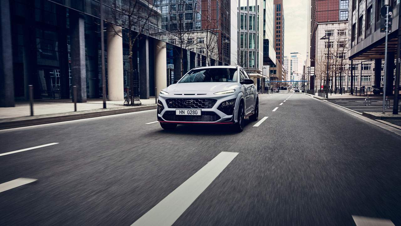 Hyundai Kona N mixes a little hot hatch with an SUV