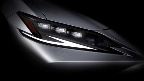 2022 Lexus ES Facelift Teaser Video Announces April 19 Premiere