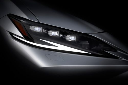 New Lexus ES teased