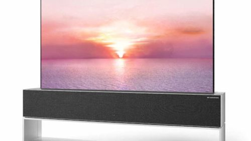 LG is taking orders for the 2021 OLED R rollable TV