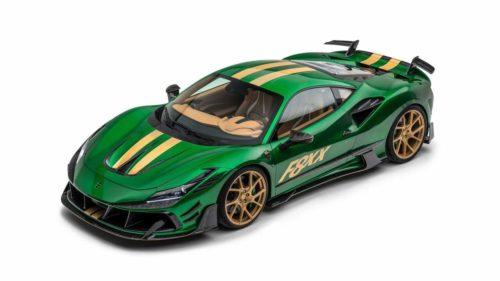 2021 Mansory F8XX is an 880HP Ferrari F8 Tributo