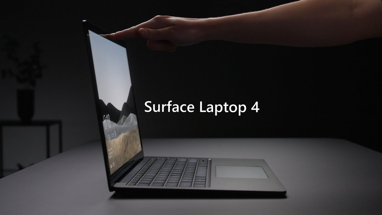 Microsoft Surface Laptop 4 hands on review